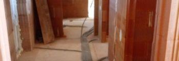 Práce v interiéri – elektrina, voda, odpad