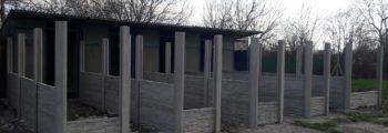 Prestavba vonkajších kotercov – útulkových
