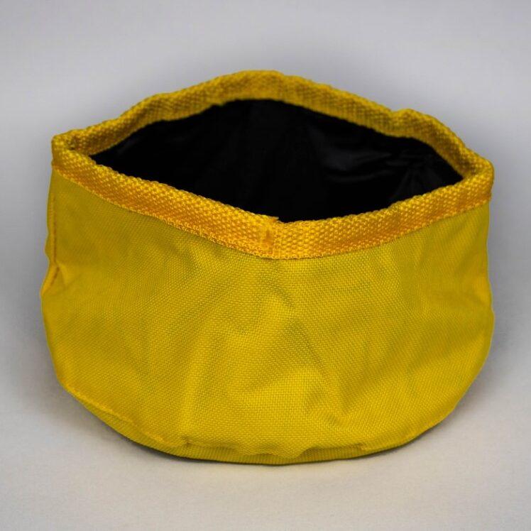 Cestovná miska žltá